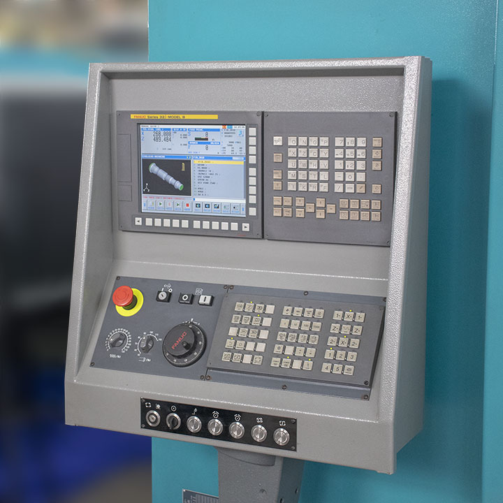 Tornos CNC IT600 INDEX Control Numérico Fanuc