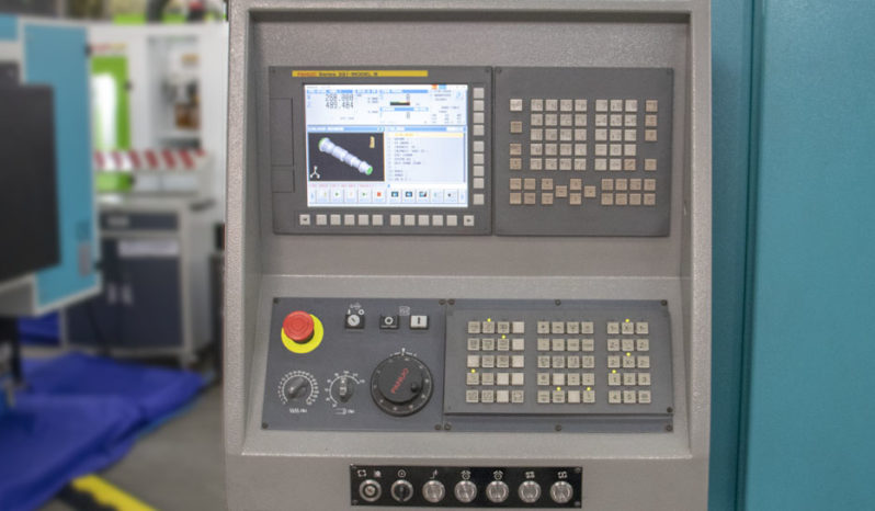 Torno CNC IT600 INDEX Control Fanuc