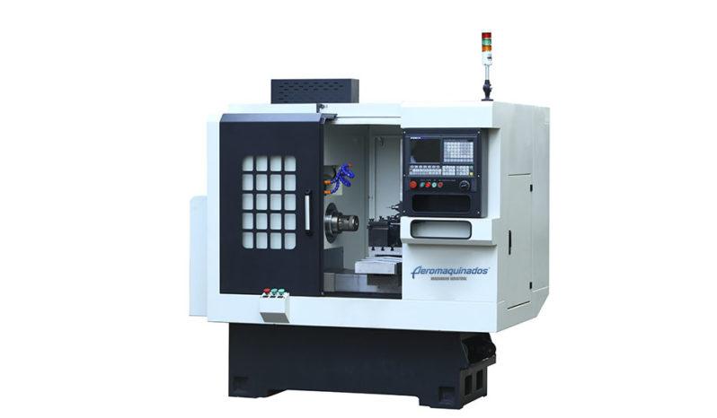 Torno CNC FL300 Torreta Motorizada