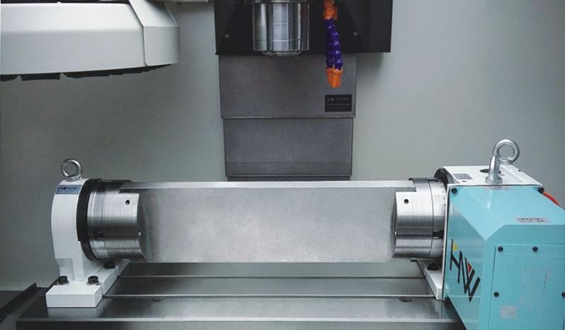 Cuarto EJE Centro de Mecanizado VMC 400 Z-MAT